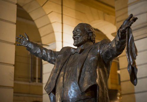 Statua Luciano Pavarotti
